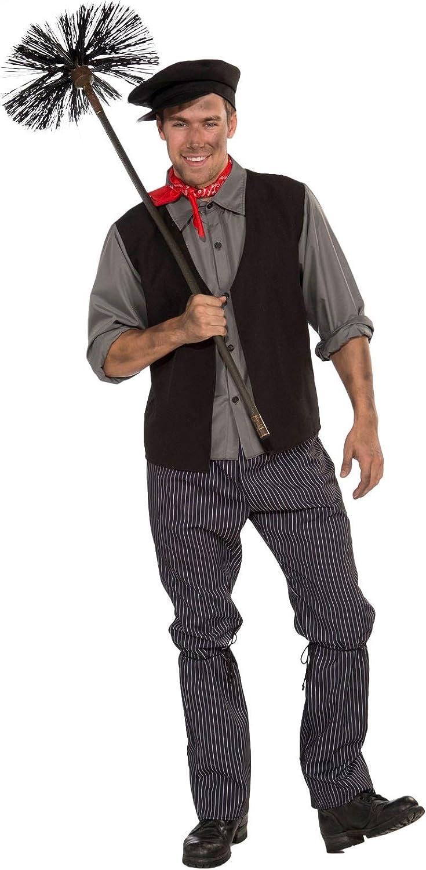 Foro Novedades Hombres de disfraz de deshollinador: Amazon.es ...