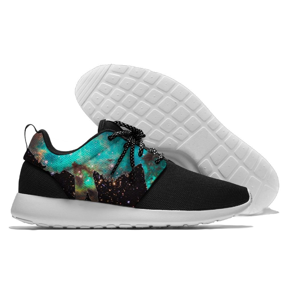 Galaxy Space Llama Athletic Running Shoes Fashion Sneakers Fitness Shoes Casual Mesh Soft Sole Lightweight Breathable