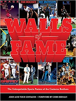 amazon walls of fame the unforgettable sports posters of the