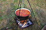 Quality Prints - Laminated 36'x24' Vibrant Durable Photo Poster - of Cooking on an Open, Food, Kettle Goulash Cooking on an Open, Food, Kettle Goulash