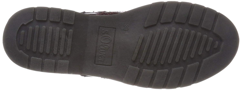 S.Oliver Damen (Bordeaux 25465-21 Combat Stiefel, Rot (Bordeaux Damen Comb 582) bd26ee
