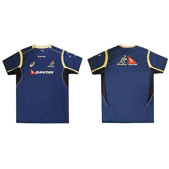 Wallabies Camiseta Oficial de Australia Rugby World Cup Fans ...