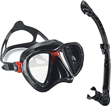 Cressi Big Eye Evolution Mask For Scuba Diving Snorkeling