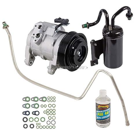 Nueva AC Compresor y embrague con completa a/c Kit de reparación para Dodge Ram