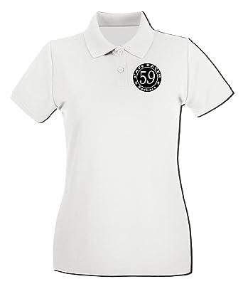 T-Shirtshock - Polo para mujer FUN0916 cafe racer rockers square ...