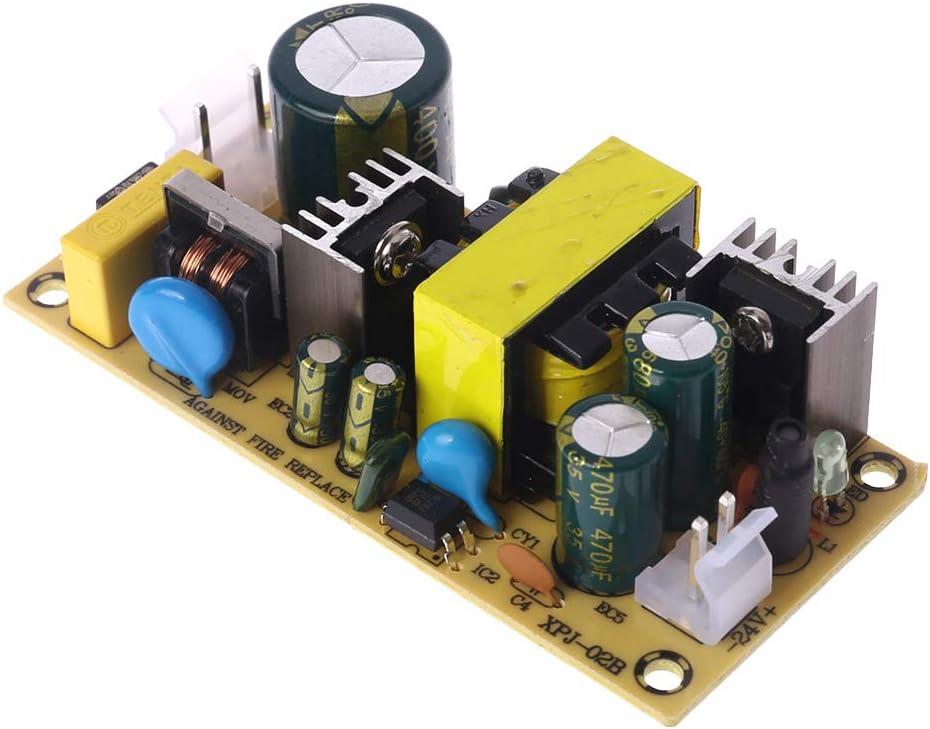 JOYKK 24V 1.5A 36W Fuente de alimentaci/ón conmutada AC 220V a la Placa DC 24V para reparaci/ón