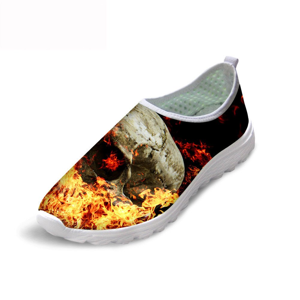 Santiro Outdoor Animal Funny Printting Stylish Mens Low Top Jogging Sports Running Shoes