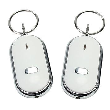 SchlÜssel Finder Locator Whistle Led Licht Kette Beep Sicherheitsalarm Sicherheit & Schutz