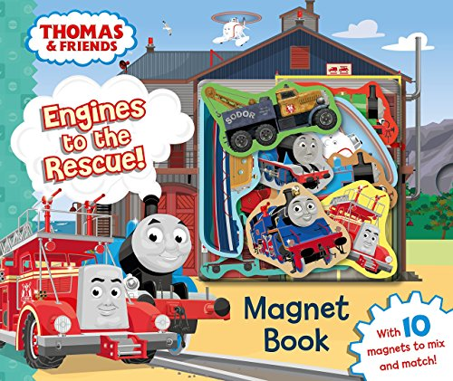 Thomas and Friends Thomas The Train Magnet Book (Thomas The Train Book And Figures)