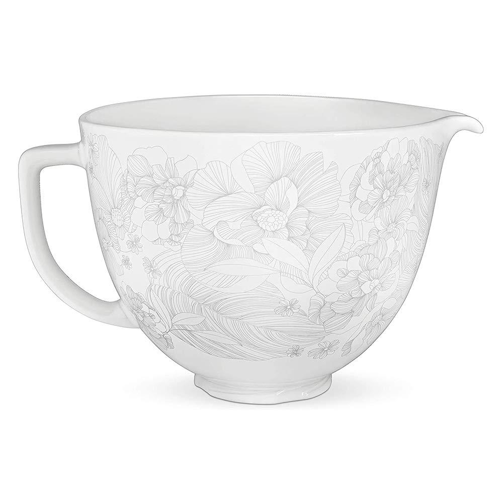 KitchenAid Ceramic Bowl 5-Quart Mixer- Whispering Floral