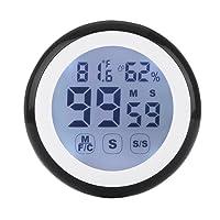 Master Cook minuteur de cuisine numérique, hygromètre et thermomètre avec aimant et support rétractable