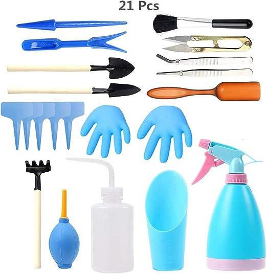 Dorall Mini herramientas de jardín Set de herramientas de ...