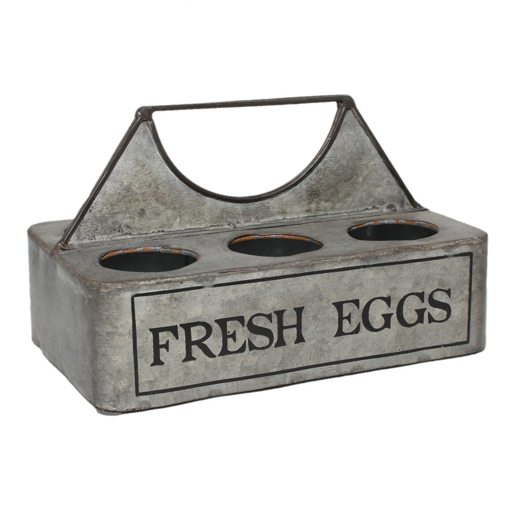 Colonial Tin Works ''Fresh Eggs'' Vintage Caddy