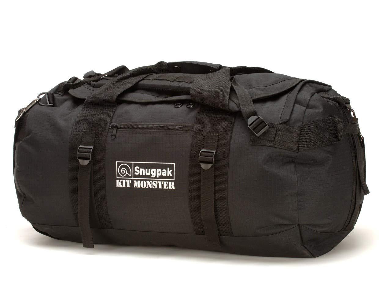 Snugpak Monster Bag Kit, Black, 65-Liter