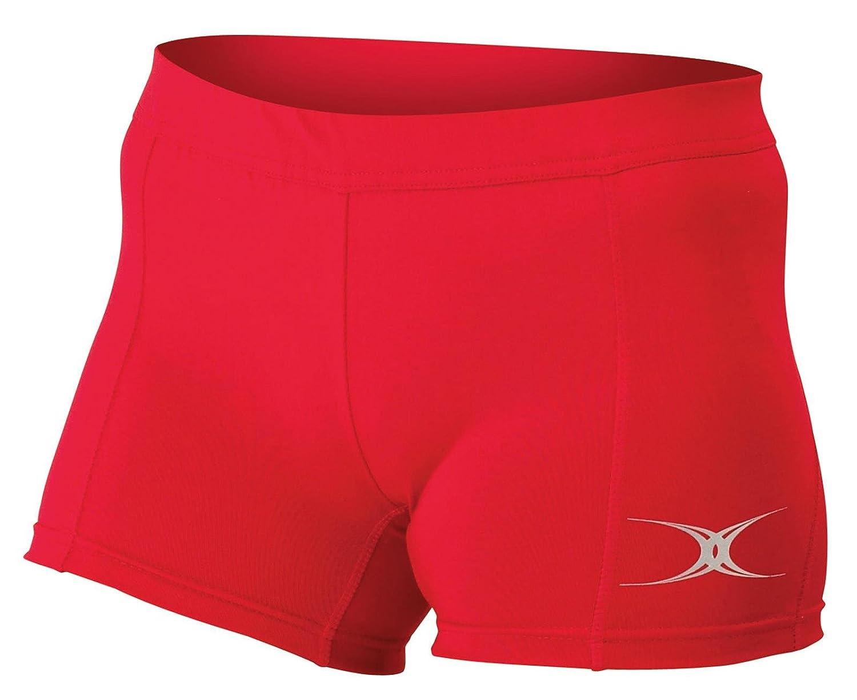 Gilbert Netball Womens Elastic Waistband Fit Eclipse Shorts 6-18
