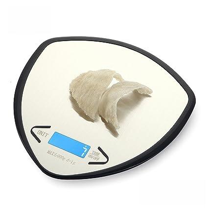 Alimentos llamados gramos de precisión electrónicos de la báscula de cocina escalas de hornear pequeño pesaje