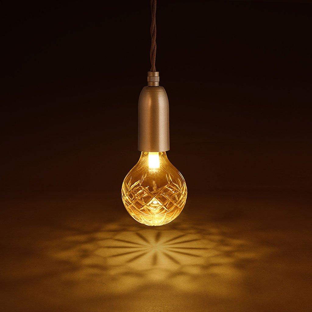 Amazon com indoor lighting modern simple led pendant lamp crystal