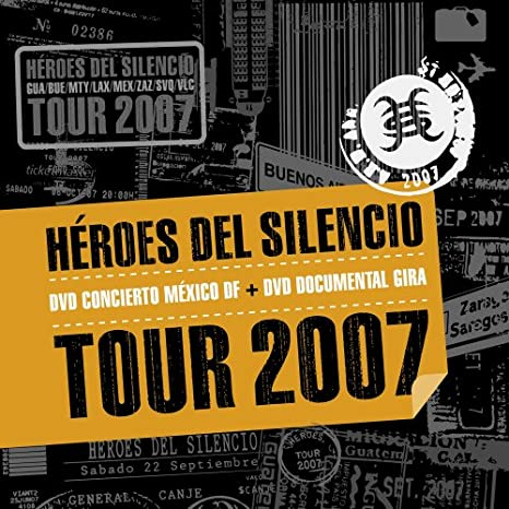 Heroes Del Silencio Tour 2007 Two Disc Edition Heroes Del Silencio Heroes Del Silencio Movies Tv