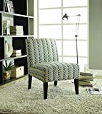 Coaster Home Furnishings Upholstered Accent Chair Cappuccino