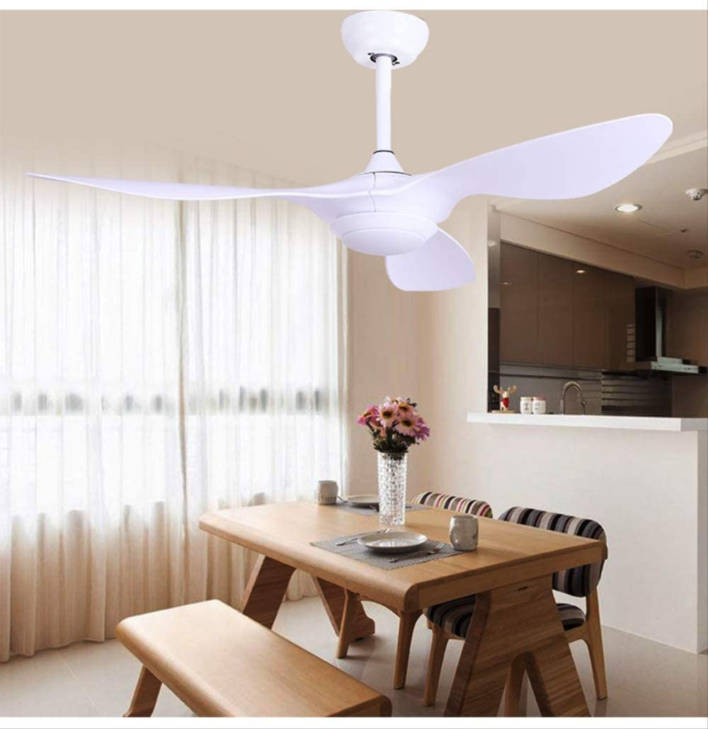Yaoxuan ventilador de techo creativo moderno con luces de alta calidad Nordic Creativity ventiladores de techo 110v/220v LED para recámara ventiladores de techo con luces de control remoto