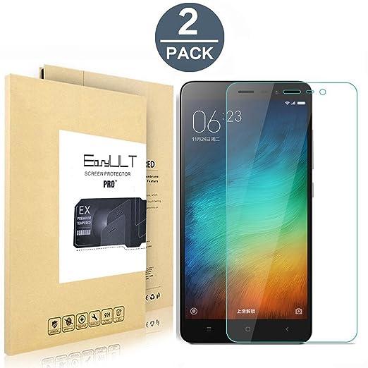 22 opinioni per [2-Pack]Xiaomi Redmi Note 3(Pro) Pellicola Protettiva, EasyULT 2 Pack Pellicola