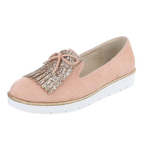 Ital-Design - Zapatillas de casa Mujer: Amazon.es: Zapatos y complementos
