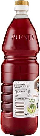 Ponti vinagre de vino tinto 1l
