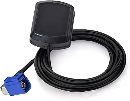 Eightwood Antena GPS Adaptador Fakra C en ángulo Recto con Antena ...