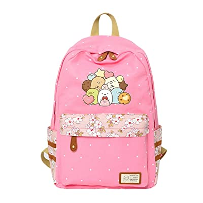 AUGYUESS Cute Sumikko Gurashi Backpack Cartoon School Bag Daypack Bookbag Shoulder Bag: Computers & Accessories