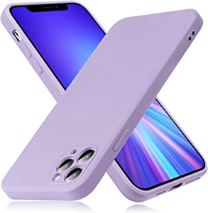 Peafowl Compatible with iPhone 11 Pro Max Case, Soft Liquid Silicone Full-Body Protective Case for iPhone 11 Pro Max(Purple)