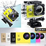 Action Camera Full HD 1080P DVR DV Sj 4000 SJ4000 30M Waterproof Underwater Extreme Sports Helmet G-Senor Camcorder for Diving Skiing Parachute Jumping Surfing Climbing