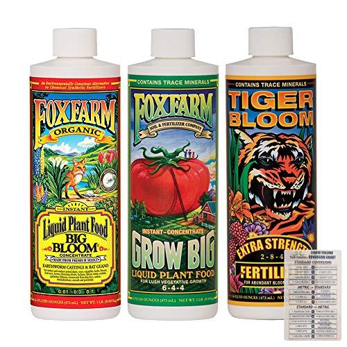 FoxFarm Liquid Nutrient Trio Formula product image