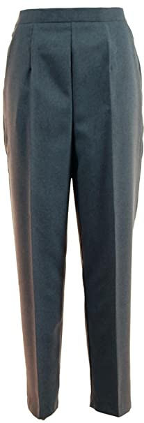 cost charm online shop incredible prices G5 APPAREL Ladies Grey Straight Leg Trousers - Ideal 4 Bowls