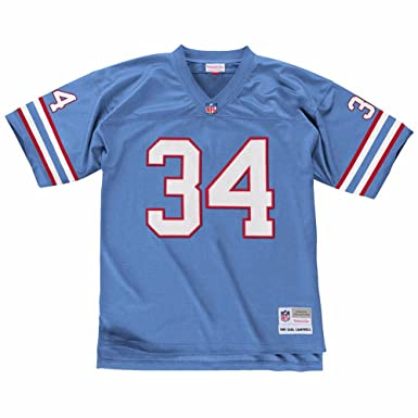fc0f240b Earl Campbell Houston Oilers Mitchell & Ness Throwback Retro Replica Jersey  (Blue) M