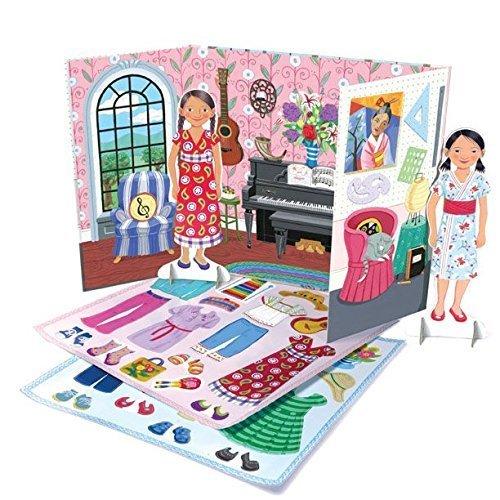 eeBoo Musician and Artist Paper Dolls by eeBoo (Eeboo Paper Dolls)