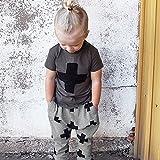 BOBORA Kids Baby Boys Girls Cross Pattern Bottoms