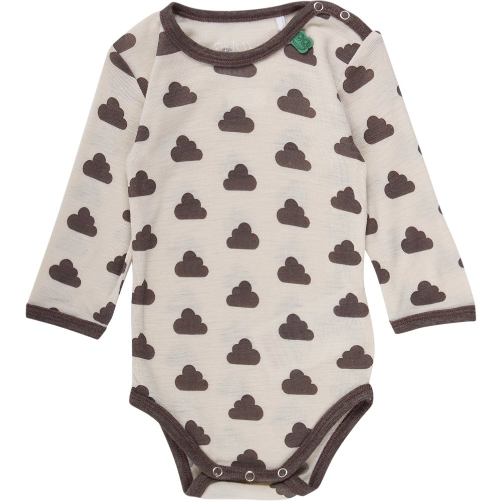 Freds World by Green Cotton Unisex Baby Wool Sky Formender Body