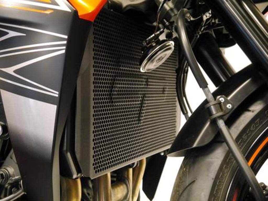 Z800 Versy 1000 Z1000 Years 2007 to 2020 Evotech Performance EP Radiator Guard to fit Kawasaki Z750 PRN007850