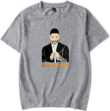 Maluma Camiseta Unisex Informal Camiseta básica de Cuello ...