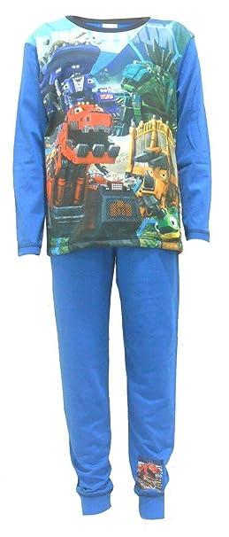 Boys Dinotrux Character Snuggle Fit Pyjamas: Amazon.es: Ropa y accesorios