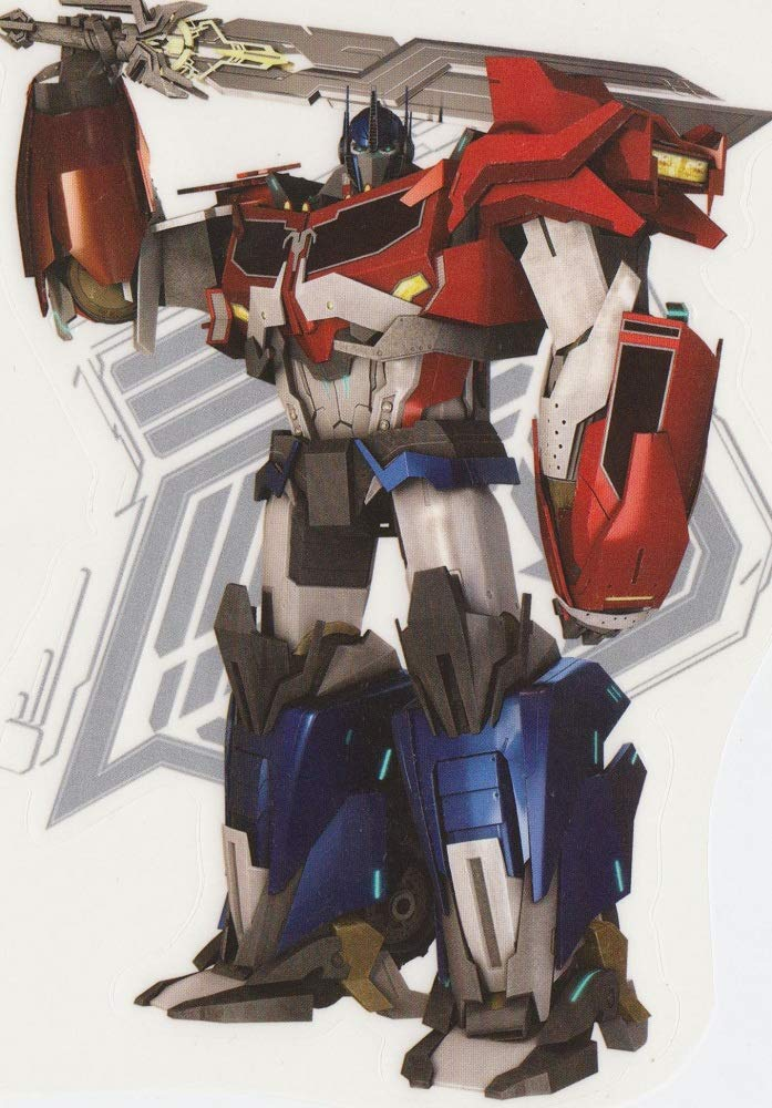 OPTIMUS PRIME Decal Removable WALL STICKER TRANSFORMERS Decor Art FREE SHIPPING