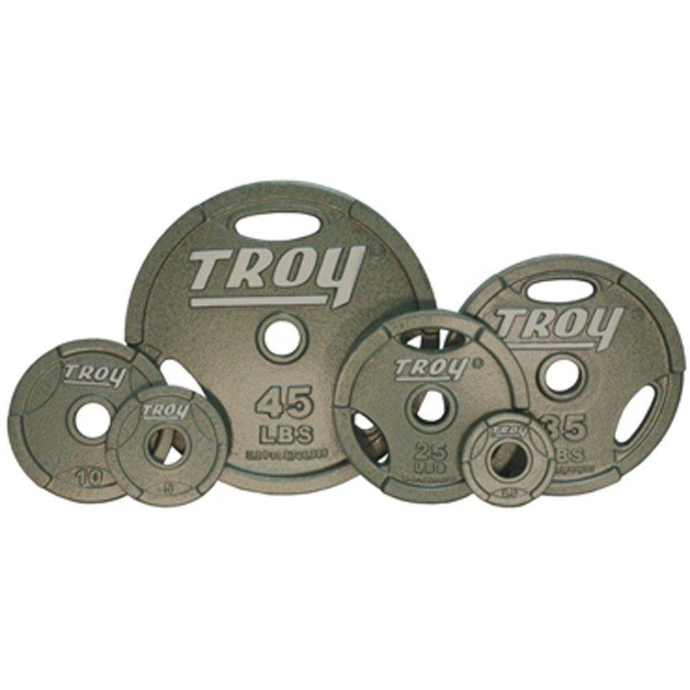 Troy Enamel Finish Interlocking Grip Plates - 45 lb