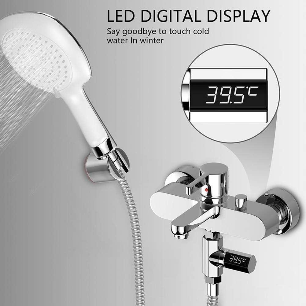 Als Show Wasserfest LED Display Bad Meter Digital Babyphone Visual Duschen Temperatur Baby Tester f/ür Home Zubeh/ör Wasser Thermometer