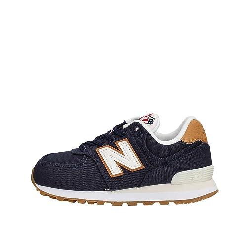 f12a9073b315de New Balance 574 Scarpe Sneaker Bambino Ragazzo Blu PC574T1-BLU   Amazon.co.uk  Shoes   Bags