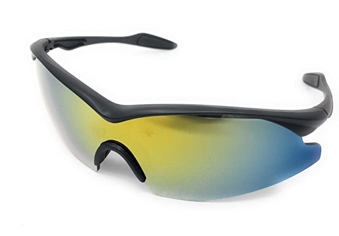 e7d0c7b75e Amazon.com  New Bell + Howell Tac Glasses Military Style Sunglasses Glare  Enhance Colors ASTV  Clothing