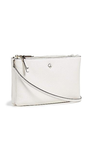 2b3226a3158 Kate Spade New York Women's Polly Medium Double Gusset Crossbody Bag