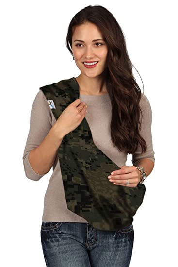 65e5b9883a2 Amazon.com   HugaMonkey Camouflage Dark Green Military Baby Sling - Small    Baby