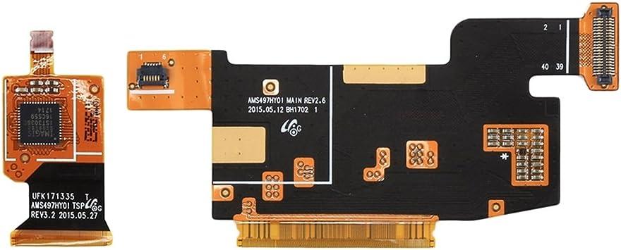WUXUN-PHONE CASE Piezas de reparación Un par de IPartsComprar Compatible con Samsung Galaxy J2 / J200 y J3 / J300 y J5 / J500 Conector LCD Cables Flexibles: Amazon.es: Electrónica