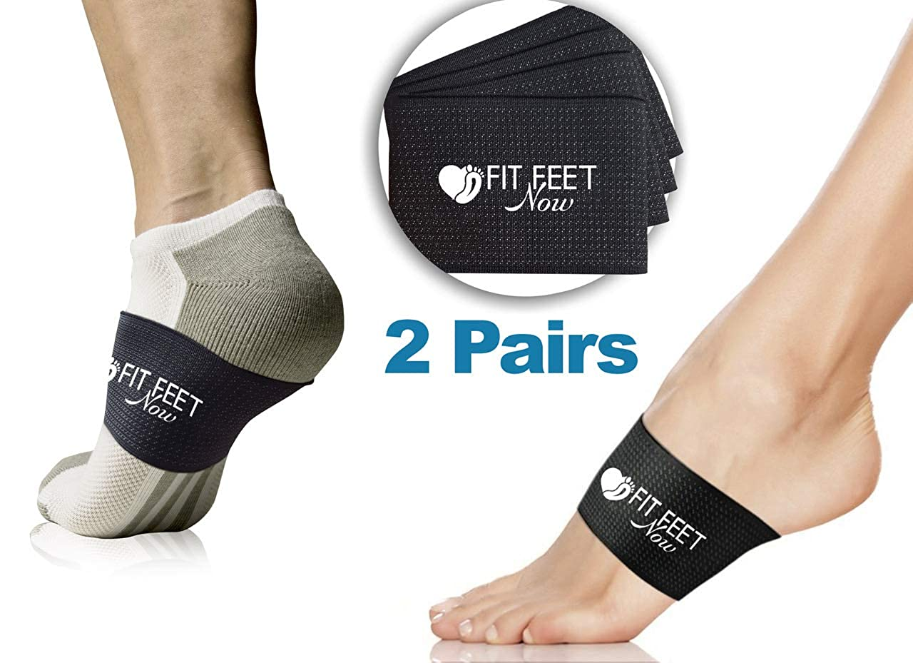 fd568451b8 Plantar Fasciitis Support Braces - Fast Foot Pain Relief - More Effective &  Easier to Use Than Traditional Night Splints, Orthotics, Taping, Socks &  Insoles ...