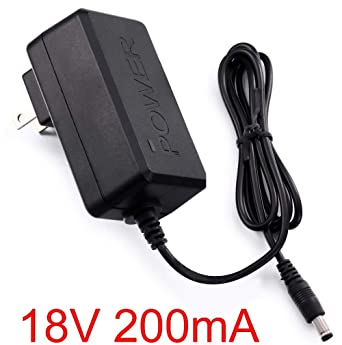 AC Converter Adapter DC 9V 200mA Power Supply Charger US DC 5.5mm x 2.1mm 0.2A